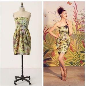 Anthropologie McGinn Magma Sleeveless Dress 2 MINT